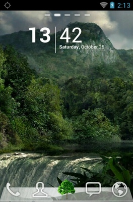 android theme 'Green Forests'