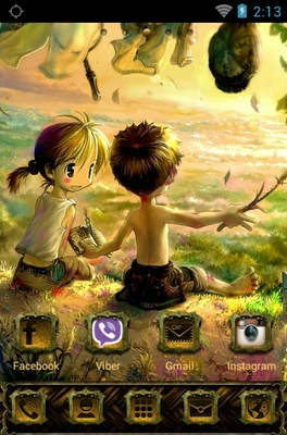 Kids android theme home screen