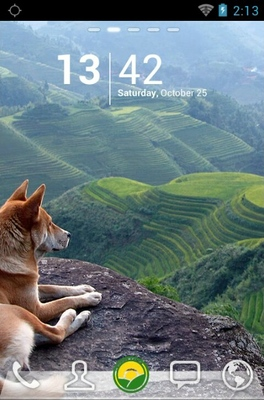 android theme 'Beautiful Valleys'