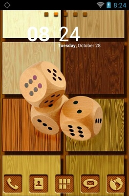 android theme 'Wood '