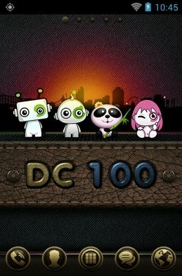 android theme 'DC 100'