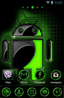 Android android theme home screen