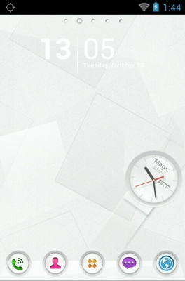 Magic Watch android theme