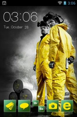 Breaking Bad android theme