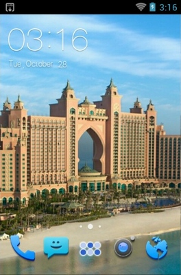 android theme 'Atlantis Hotel'