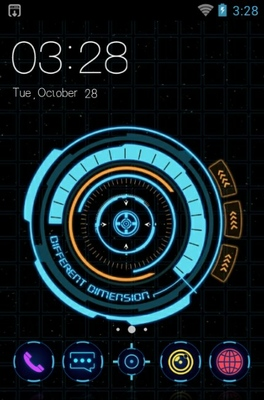 android theme 'Different dimension'