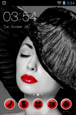 android theme 'Red Lips'