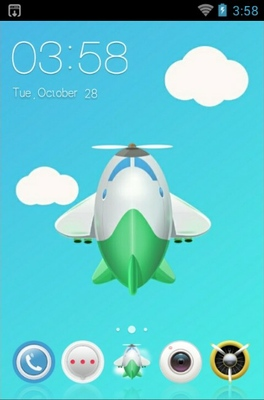 android theme 'Unmanned Aircraft'
