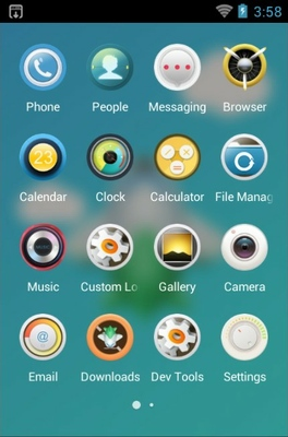 Unmanned Aircraft android theme application menu