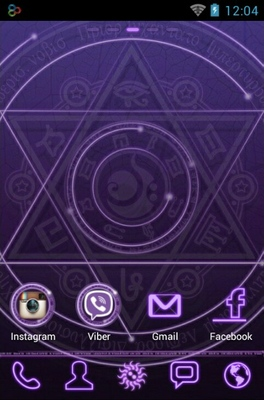 magic circle android theme for go launcher androidlookscom