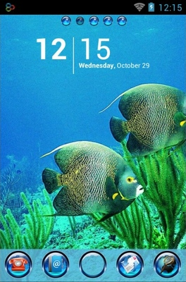 android theme 'Underwater Life'