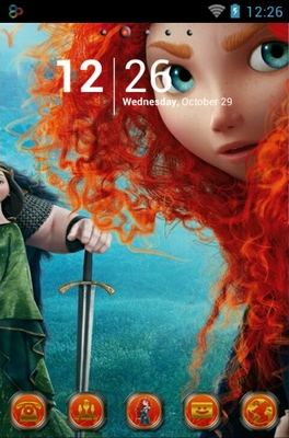 Merida android theme