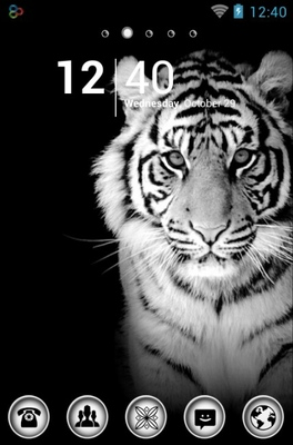 android theme 'White Tiger'