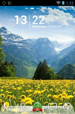 android theme 'Incredible Nature'