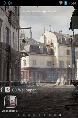 Assassin's Creed Unity android theme wallpaper