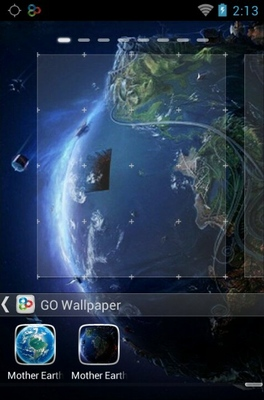 Mother Earth android theme wallpaper