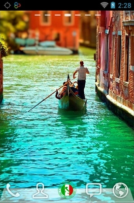 android theme 'Lovely Venice'