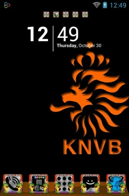 android theme 'KNVB'