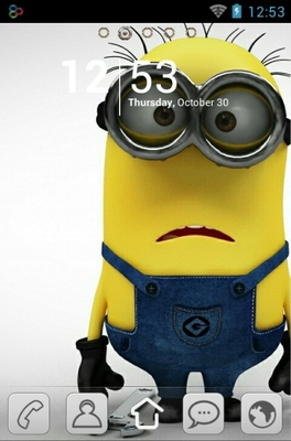 android theme 'Minions'