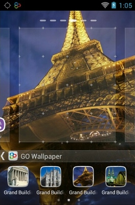 Grand Buildings android theme wallpaper