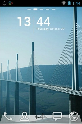 Magnificent Bridges android theme
