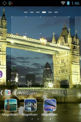 Magnificent Bridges android theme wallpaper