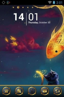 android theme 'Cats Dream'