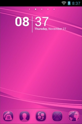 android theme 'PP Abstract'
