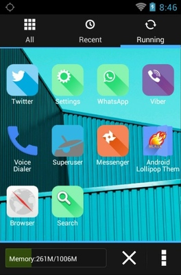 Google Android 5.0 android theme application menu