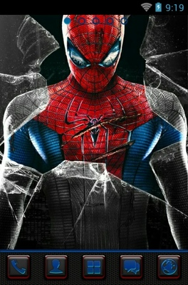 android theme 'Amazing Spider-Man'