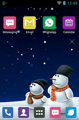 android theme 'Snowman'