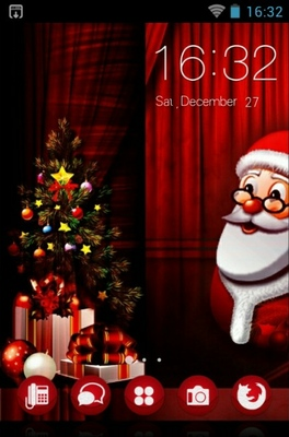 android theme 'Santa Claus'