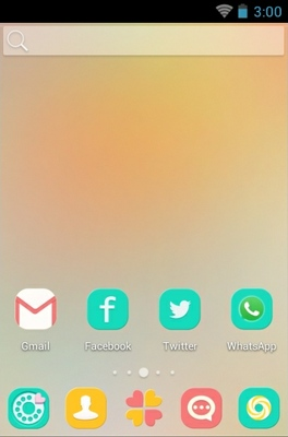 Candy android theme