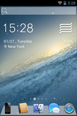 android theme 'Space'
