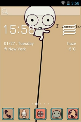 android theme 'To The Moon'