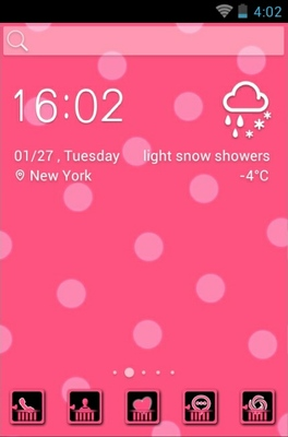 Pink Lady android theme