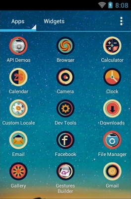 MIUI OS android theme application menu
