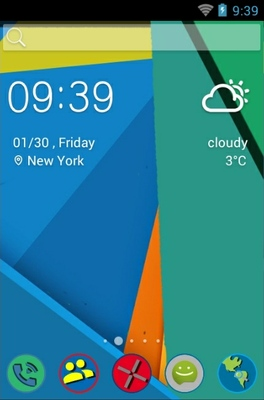 android theme 'Material Flat'