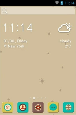 android theme 'Ye Olden Days'
