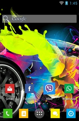 WP8 android theme home screen