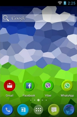 Threx android theme home screen