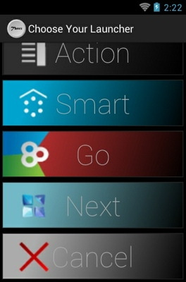Threx android theme launcher menu