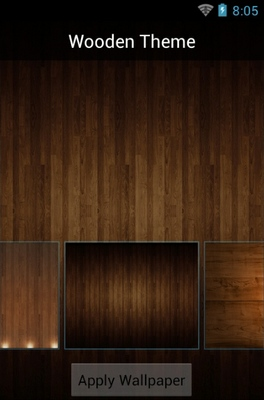 Wood android theme wallpaper
