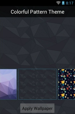 Colorful Pattern android theme wallpaper