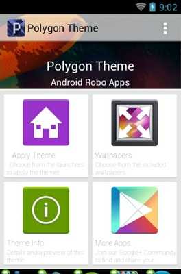 Polygon android theme