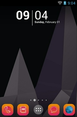 Polygon android theme wallpaper