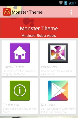 Monster android theme