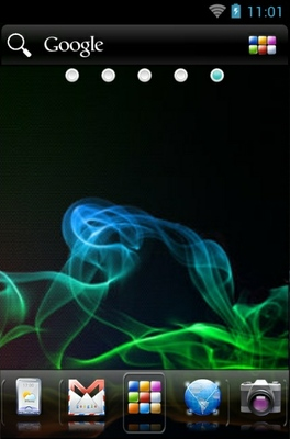 Samoled android theme wallpaper