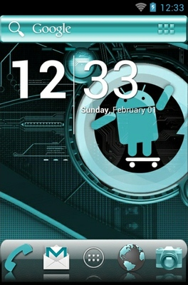 android theme 'Cyanogen'