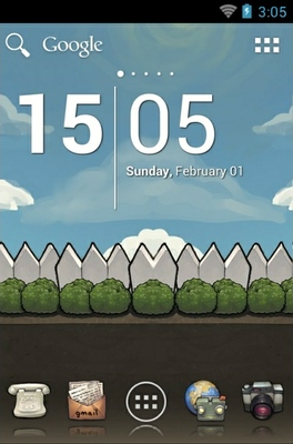 android theme 'BuuF GuuF'